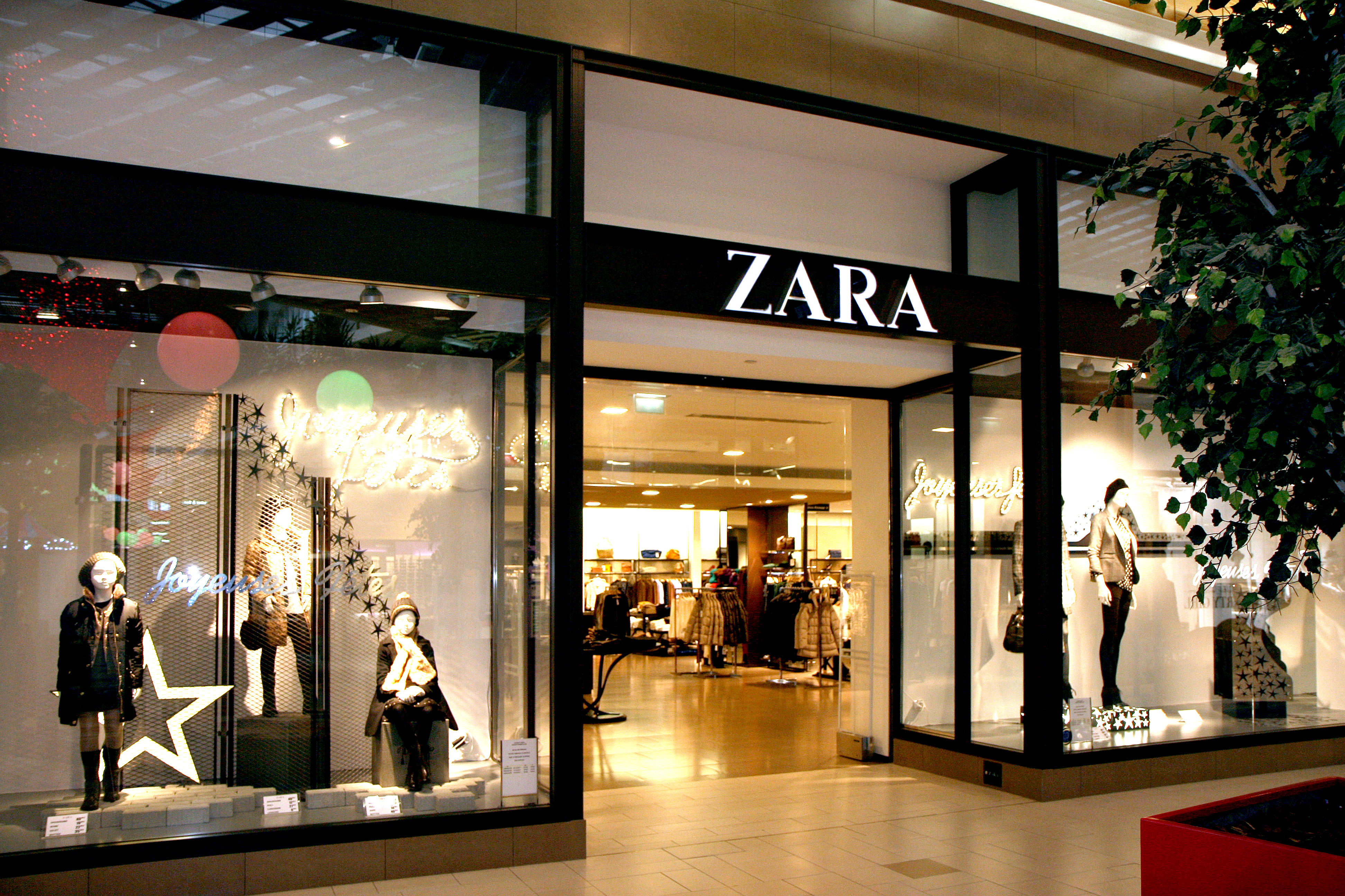 Zara centre commercial belair rambouillet for Centre boutique